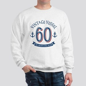 Nautical 60th Birthday Sweatshirt