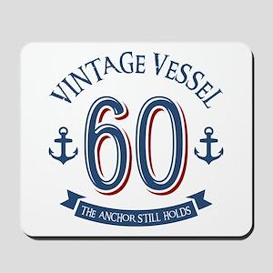 Nautical 60th Birthday Mousepad