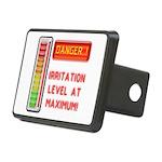 Danger-Irritation Level At Rectangular Hitch Cover