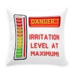 Danger-Irritation Level At Everyday Pillow