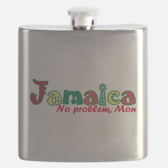 Jamaica No Problem Flask