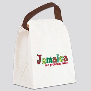 Jamaica No Problem Canvas Lunch Bag