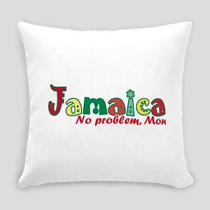 Jamaica No Problem Everyday Pillow