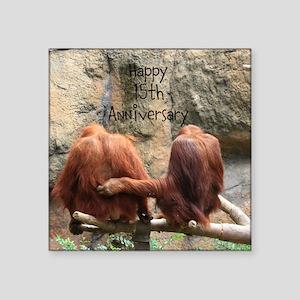Anniversary Orangutans Sticker