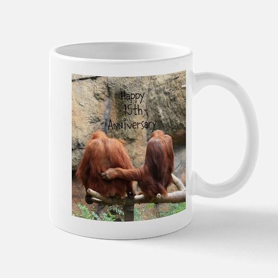 Anniversary Orangutans Mugs
