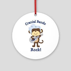 Cranial Bands Rock Ornament (Round)