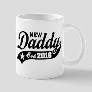 New Daddy Est. 2016 Mug