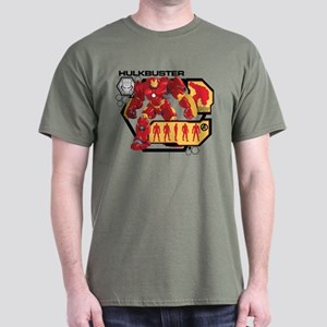 Hulkbuster Chart Dark T-Shirt