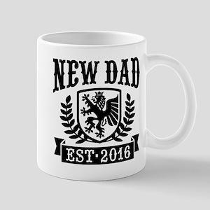New Dad Est. 2016 Mug