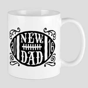New Dad 2016 Football Mug