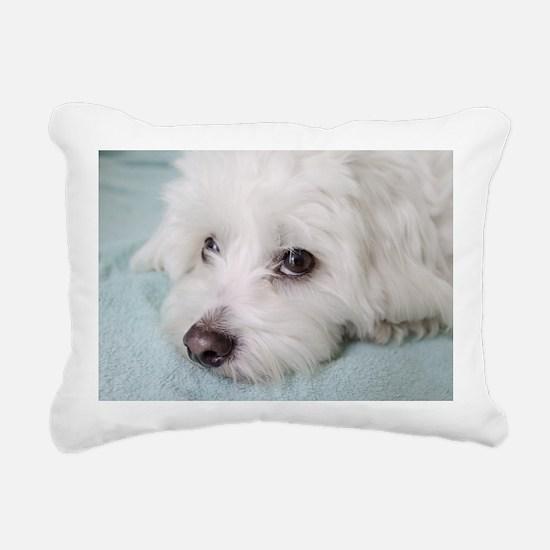 Funny Animals Rectangular Canvas Pillow