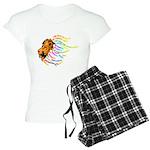 Lion Reiki Precepts Women's Pjs Pajamas
