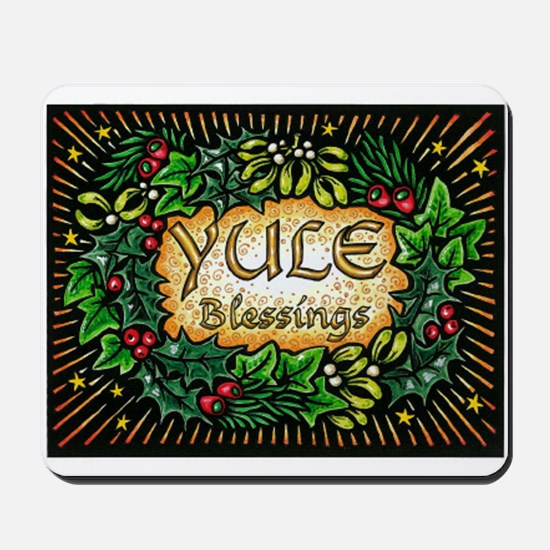 YuleBlessings Mousepad