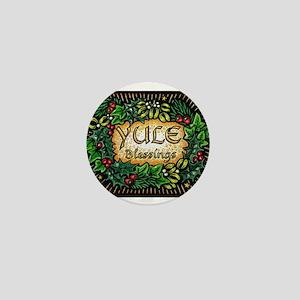 YuleBlessings Mini Button