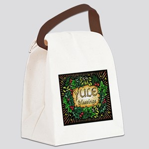 YuleBlessings Canvas Lunch Bag
