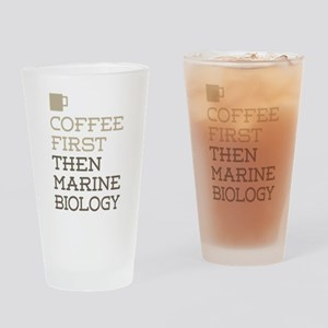 Marine Biology Drinking Glass