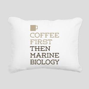 Marine Biology Rectangular Canvas Pillow
