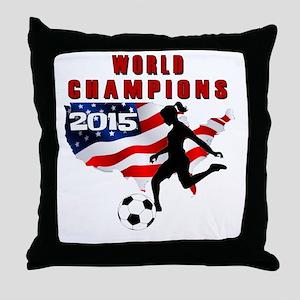 WC 2015 Throw Pillow