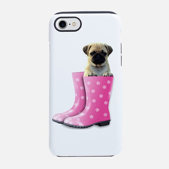 Pug in Boots iPhone 8/7 Tough Case