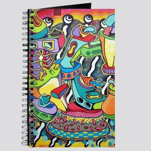Colorful Abstract Street Art Journal