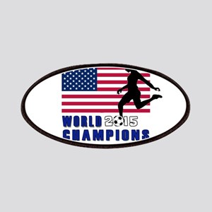 Women's Soccer Champions Patch