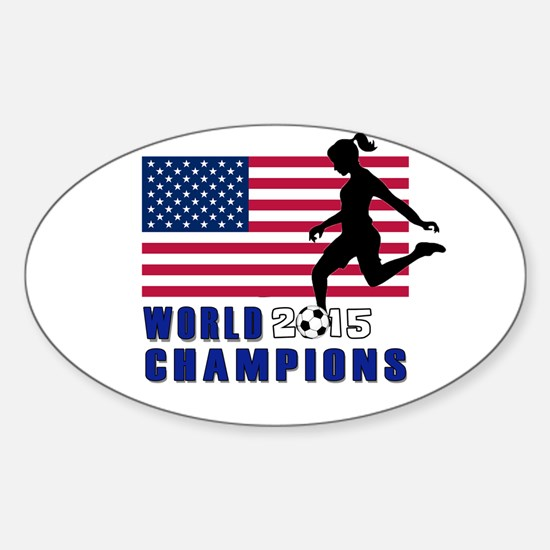Women's Soccer Champions Decal
