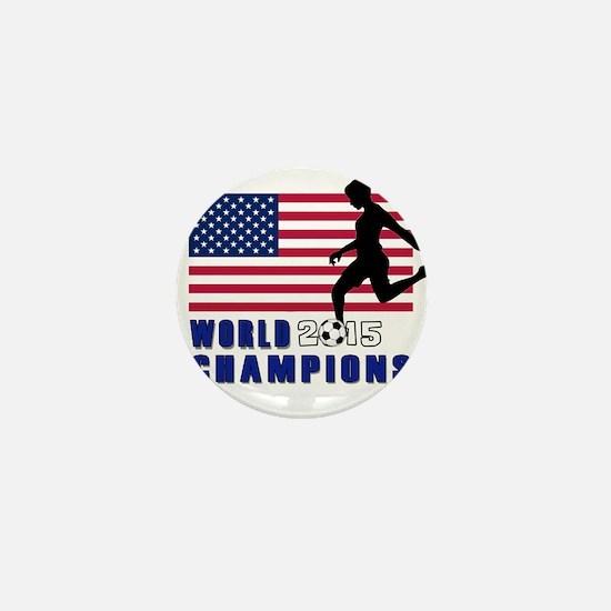 Women's Soccer Champions Mini Button