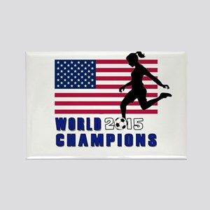 Women's Soccer Champions Magnets