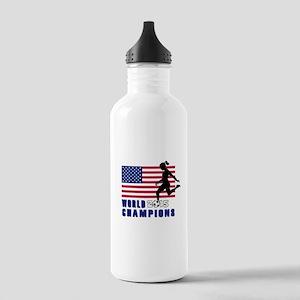 Women's Soccer Champions Water Bottle