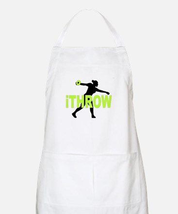 Green Discus Apron