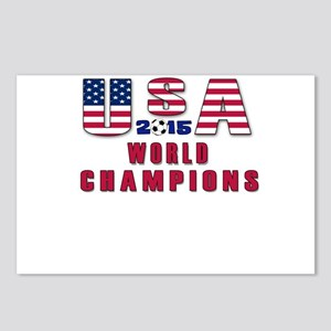 Women's Soccer Champions Postcards (Package of 8)