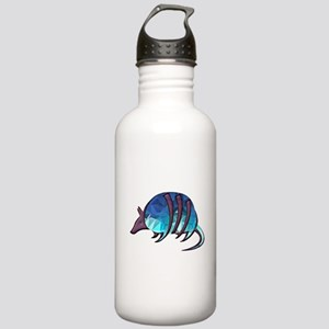 Mosaic Blue Armadillo Stainless Water Bottle 1.0L