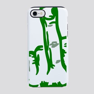 Green Middle Finger iPhone 8/7 Tough Case