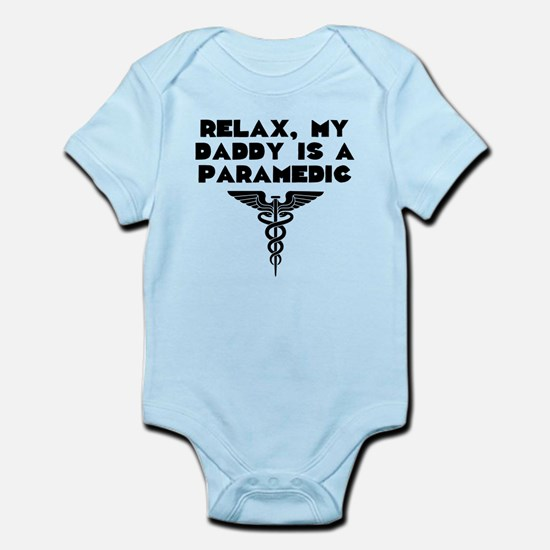 My Daddy Is A Paramedic Body Suit