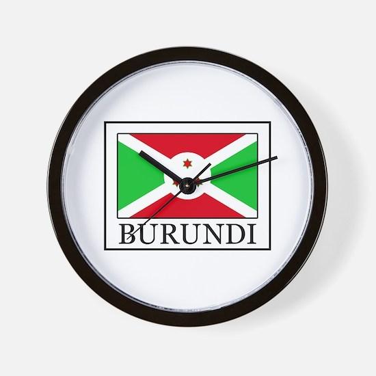 Burundi Wall Clock