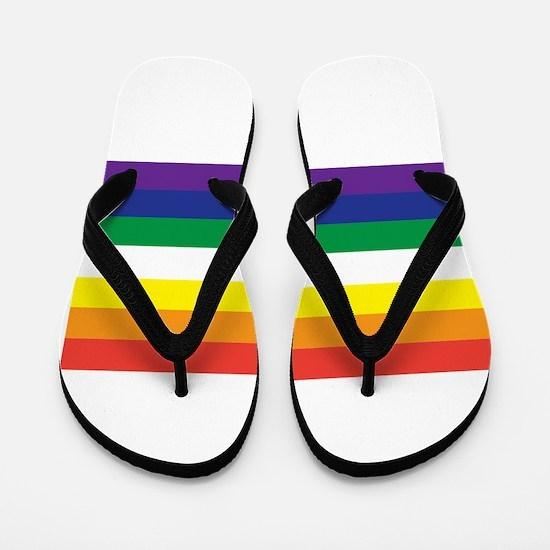 Funny Gay equality Flip Flops