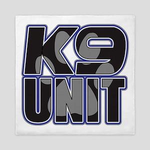Police K9 Unit Paw Queen Duvet
