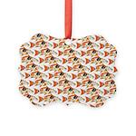 Koi Carp Pattern Ornament