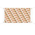 Koi Carp Pattern Banner