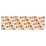 Koi Carp Pattern Bumper Sticker