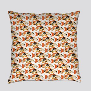 Koi Carp Pattern Everyday Pillow