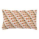 Koi Carp Pattern Pillow Case
