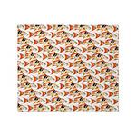 Koi Carp Pattern Throw Blanket