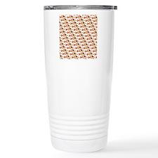 Koi Carp Pattern Travel Mug