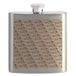 Koi Carp Pattern Flask