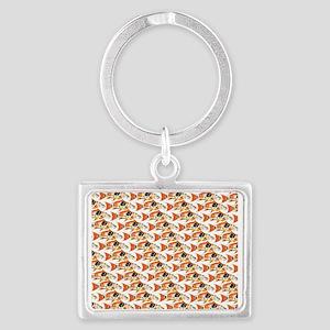 Koi Carp Pattern Keychains