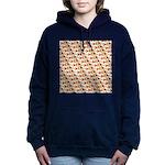 Koi Carp Pattern Women's Hooded Sweatshirt