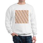 Koi Carp Pattern Sweatshirt