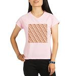 Koi Carp Pattern Performance Dry T-Shirt