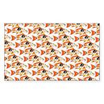 Koi Carp Pattern Sticker